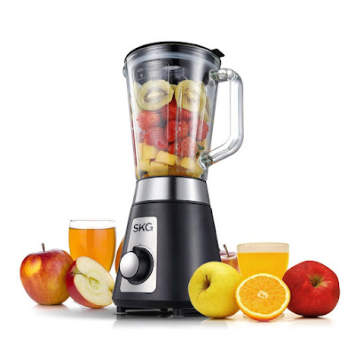 SKG Professional Blender/ Mixer personal 1500ml glass jar 2 Speeds with HIGH/LOW