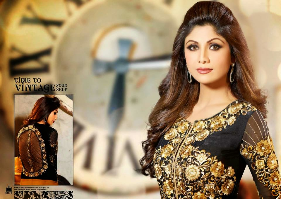 Latest Bridal And Party Wear Anarkali Frocks With Shilpa Shetty From