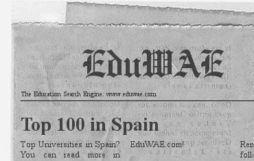 Top Universities in Spain