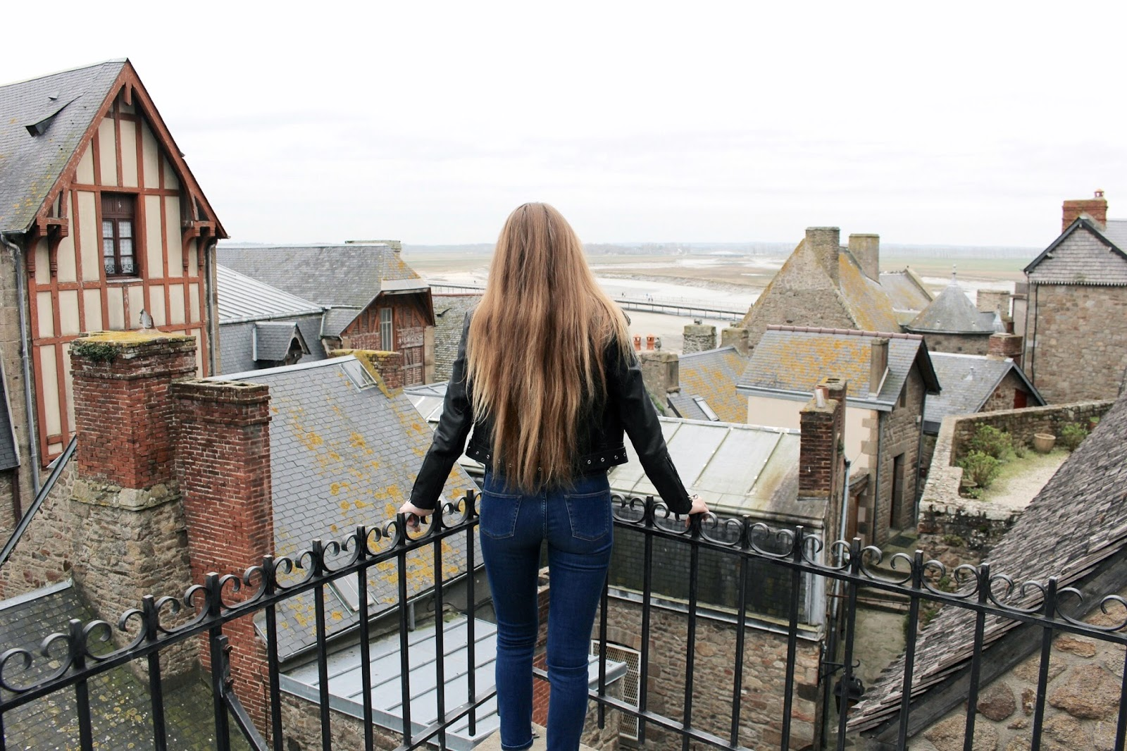 UK travel blogger in France Mont Saint Michel