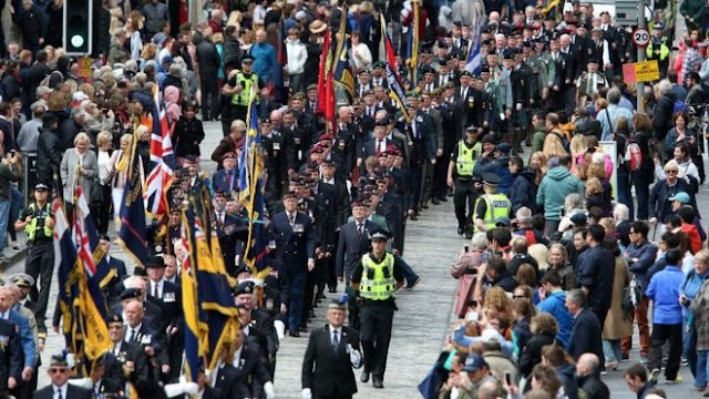 Scotland has paid tribute to servicemen and women at events held to commemorate Armed Forces Day.