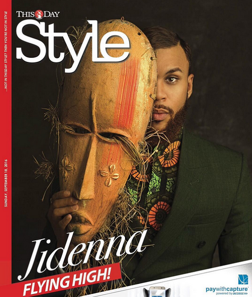 Image result for Jidenna stylish on the cover of ThisDay Style Magazine