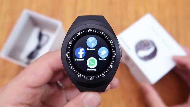 مراجعة لأرخص ساعة ذكية بنظام الأندرويد - Alfawise Smart Watch