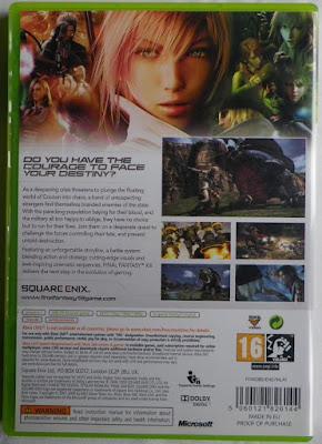 Final Fantasy XIII - Caja detrás