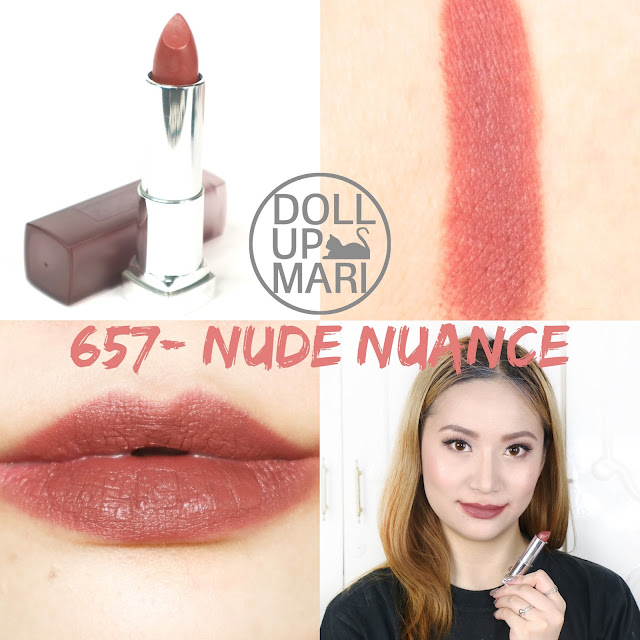 Brown Shade Lipstick Maybelline