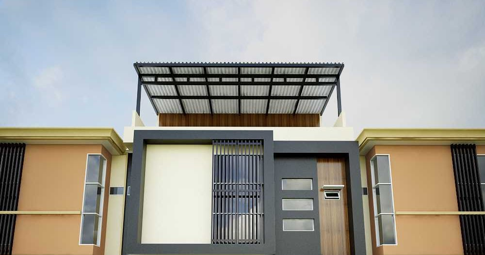 Cat Rumah Hitam Putih Minimalis - Homes Decoration Ideas