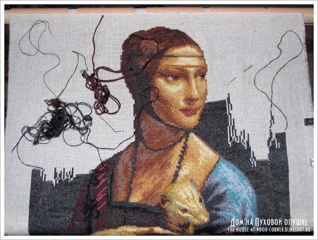 Вышивка крестом по мотивам картин известных художников