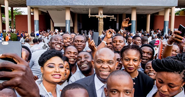 Billionaire Tony Elumelu and other African entrepreneurs