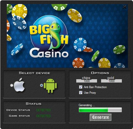 Big fish casino hack deutsch