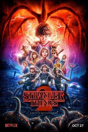 Poster Of Stranger Things Season 02 Complete 2017 Watch Online Free Download