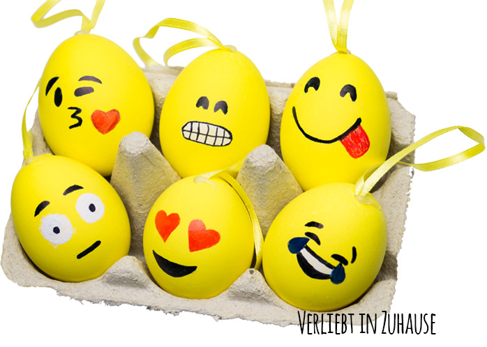 DIY -Emoji Eier