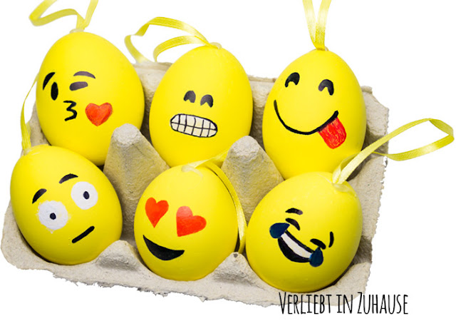 DIY Emoji Ostereier (easter eggs)