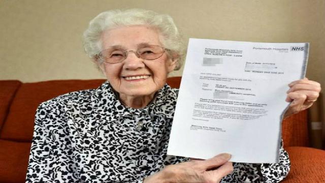 Nenek berusia 99 Tahun Hamil