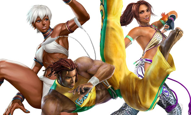 capoeira in video games