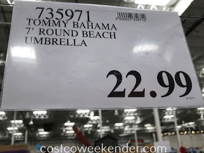 Deal for the Tommy Bahama 7ft Round Beach Umbrella at Costco