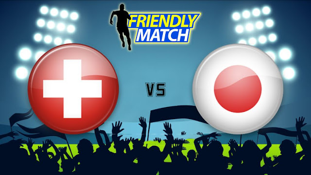 Switzerland vs Japan Full Match Replay 08 June 2018