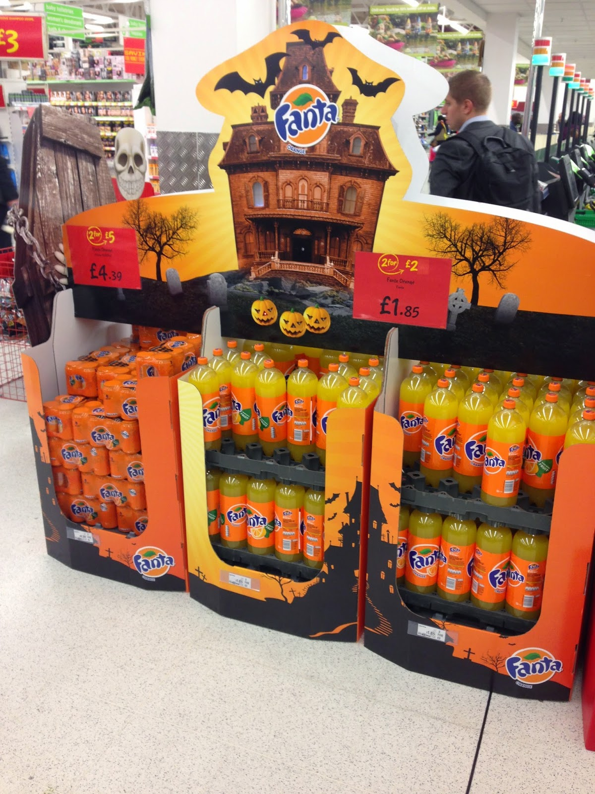 Mesh In Store Inspiration Fanta Halloween Spotted