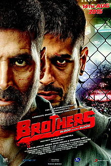Brothers is Akshay kumar, Sidharth Malhotra 8th Highest Grossing film of his career list, Co-Actress Jacqueline Fernandez