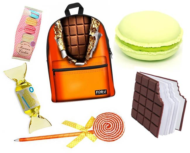 fournitures scolaires gourmandes