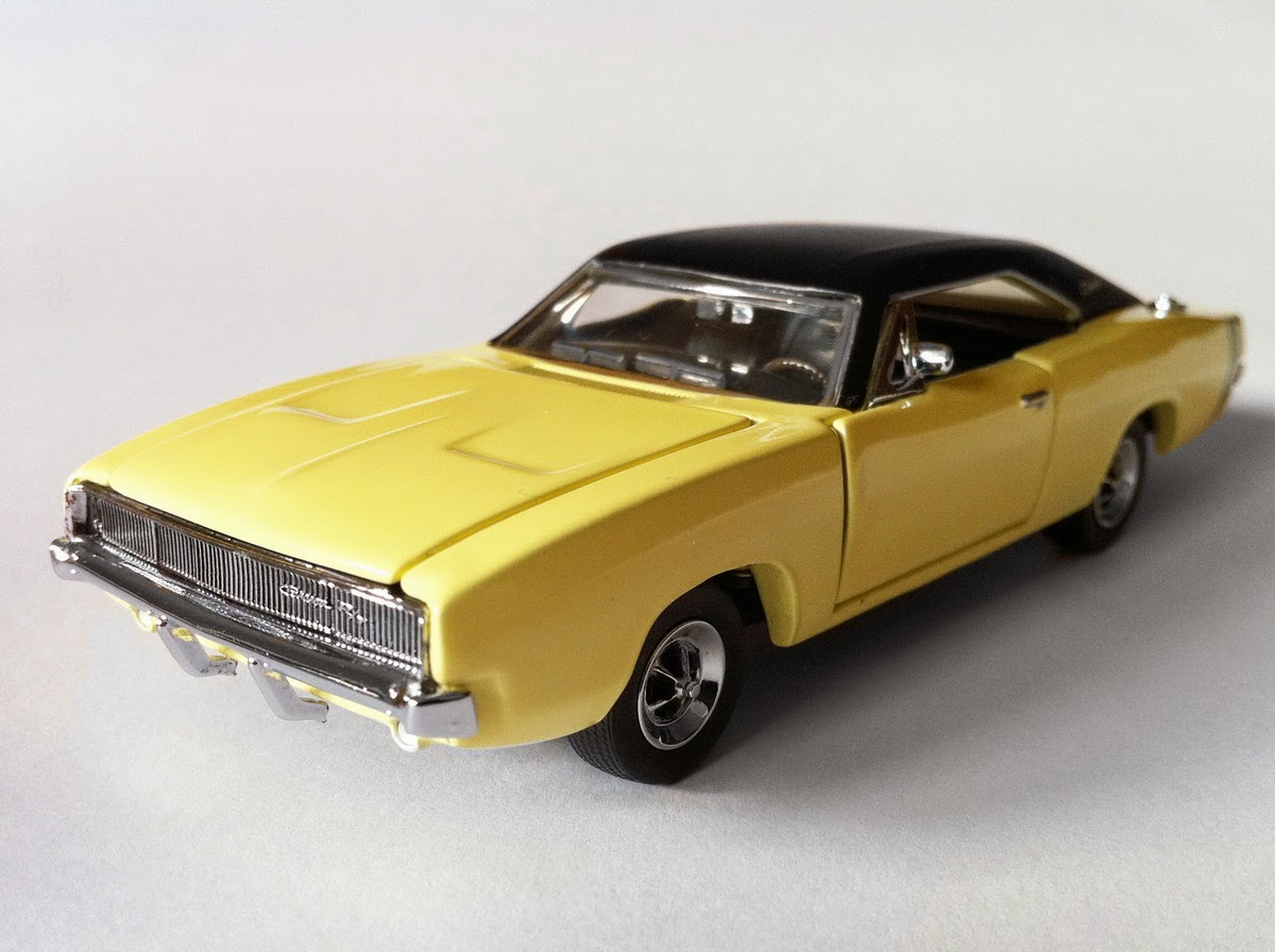American Icons 143 Collection 1968 Dodge Charger R T By Franklin Mint 1964