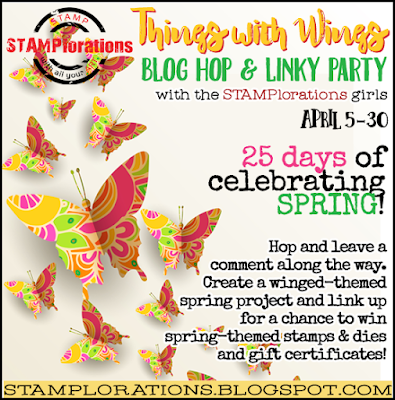 Join us for: STAMPlorations Things with Wings