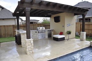 Custom Backyard Shade Arbors DFW 5