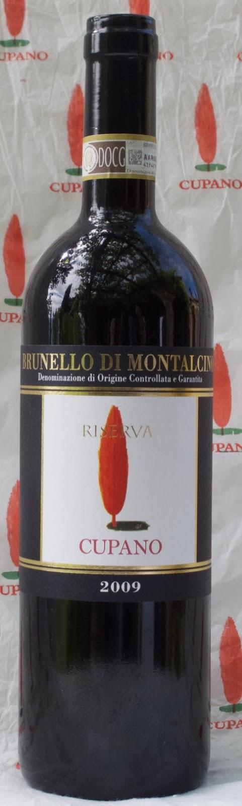 Cupano News Brunello Riserva 2009 Among The 25 Best Wines