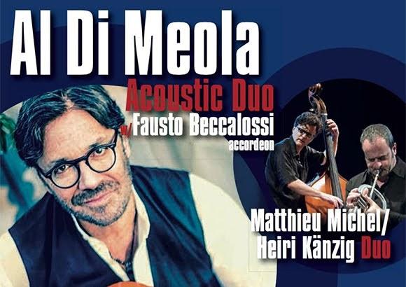 Concerts d'Al Di Meola en Suisse : d'Astor Piazzolla aux Beatles