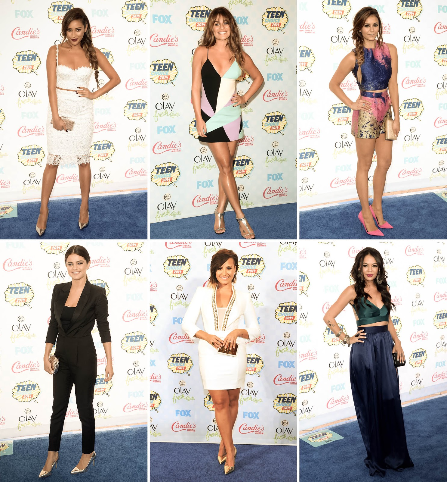 2014 Teen Choice Awards Best-Dressed | le paper doll ...
