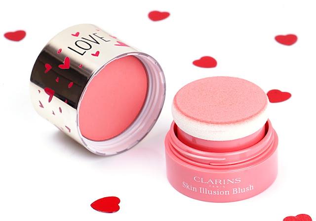 Clarins Joli Baume Eclat du Jour & Skin Illusion Blush luminous pink