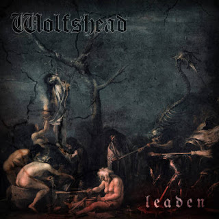 "Wolfshead - ""Division Of The Damned"" (lyric video) from the album ""Leaden"""