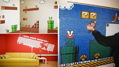 Decoración para amantes de video juegos y computadoras