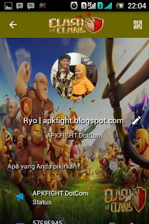 BBM Tema Clash Of Clans COC Apk Terbaru