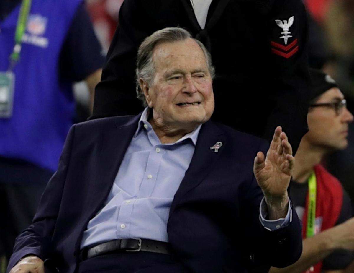 george hw bush dead