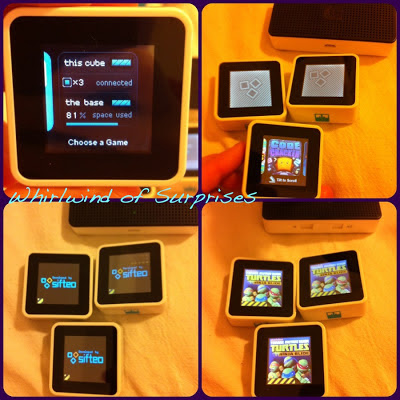games available for Sifteo Cubes