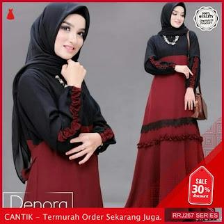 Jual RRJ267D119 Dress Denora Maxy Wanita Mc Terbaru Trendy BMGShop