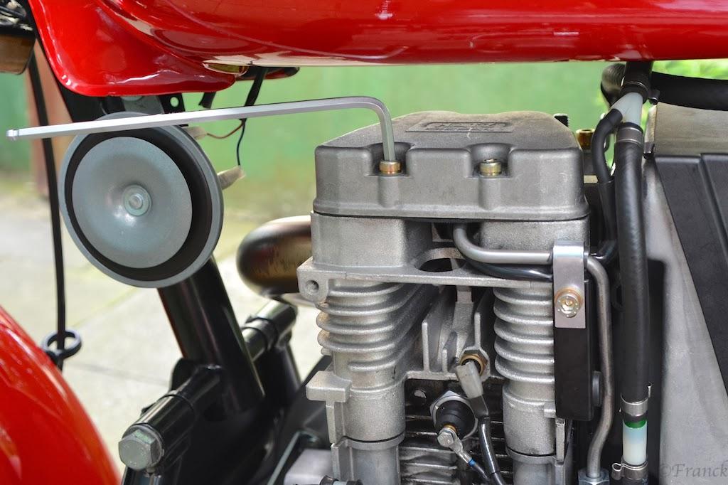 Sommer Diesel 462: Ventilspiel, Kontrolle, Einstellung