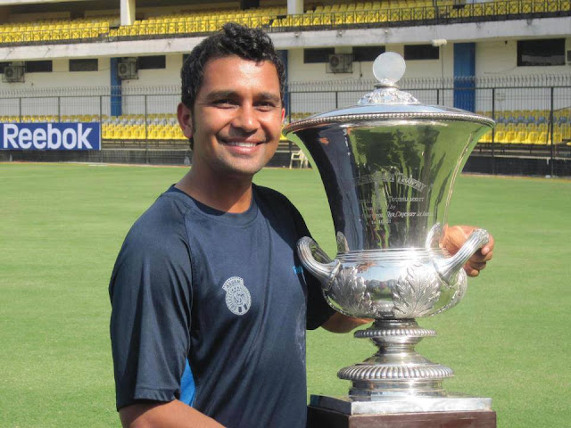 Gokul Sharma Captain of Assam Cricket Ranji Team