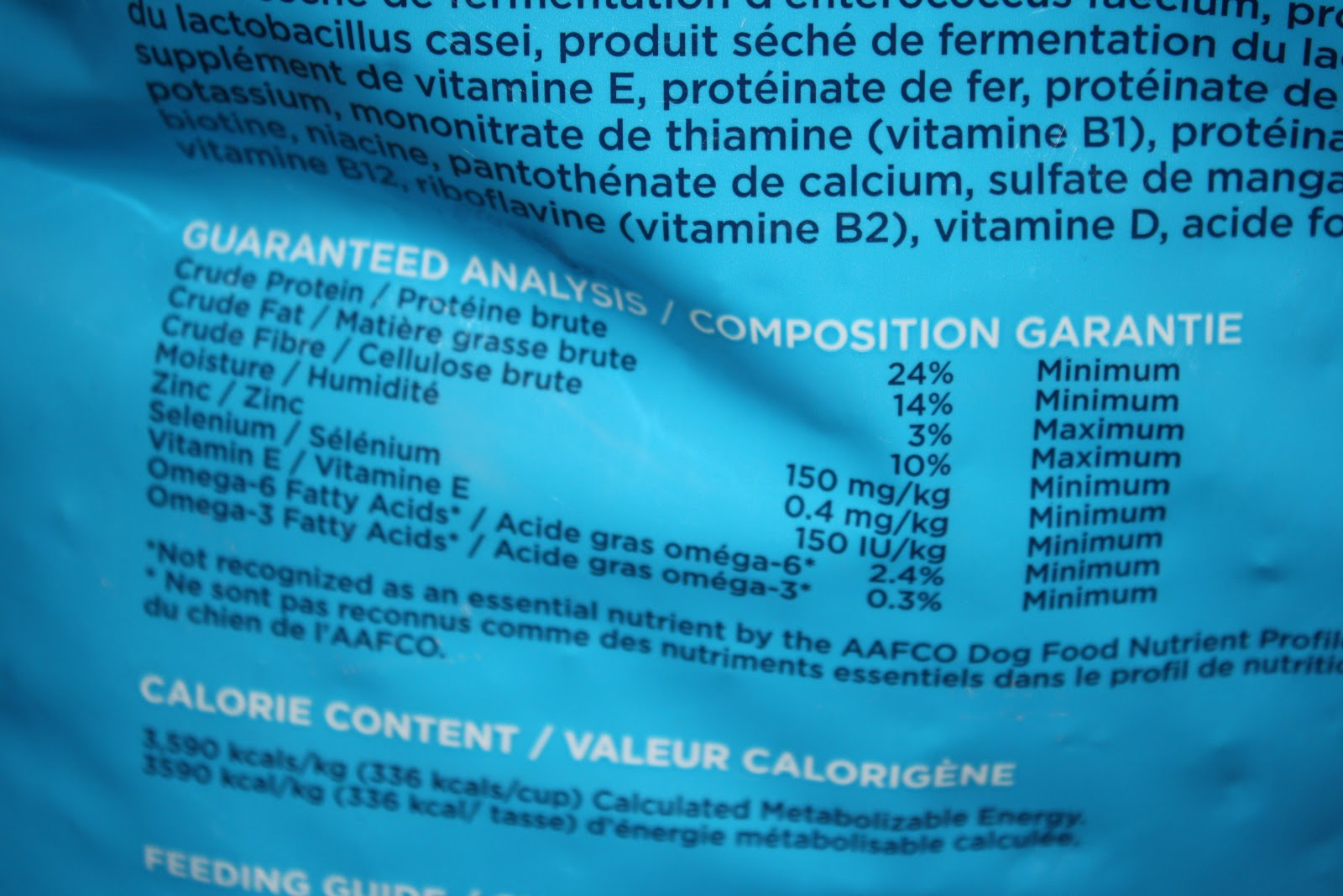 Dog Food Labels What To Look For
