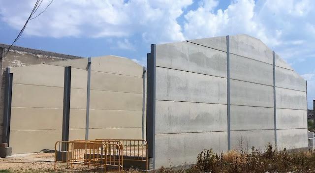 foto fachadas placas hormigón en aranda