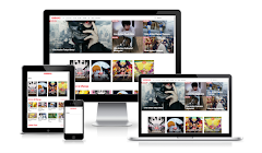 Download Animag Blogger Template Anime