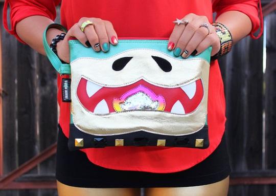 Bowser purse