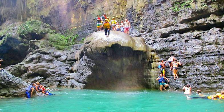 Green Canyon Body Rafting  -  Pangandaran Jawa Barat