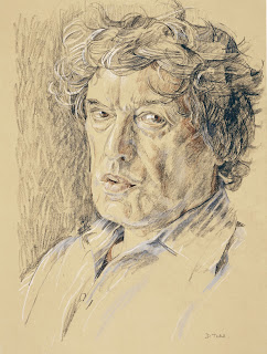 Portrait of Sir Tom Stoppard © Royal Collection Trust Queen Elizabeth II 2015