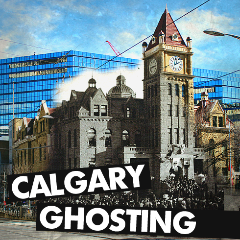 calgary alberta ghosting archival images