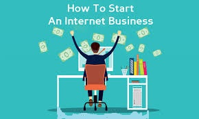 How to start a business from internet online?