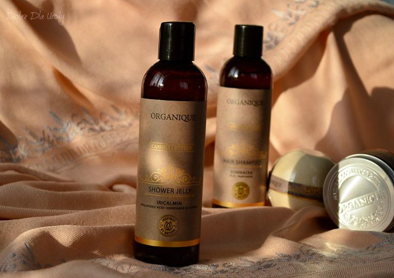 Rytuał Kaszmirowy Organique  - Żel pod prysznic słodkim karmelem pachnący!
