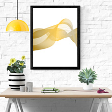 Abstract Lines Art, Framed Print Wall Frame in Port Harcourt, Nigeria