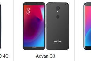 Perbandingan 3 HP Advan yang Rilis Awal tahun 2019 Vandroid S50 4G vs Advan G3 vs Advan i6A