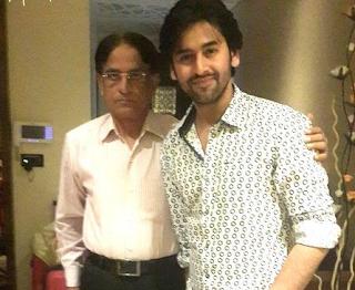 Foto Shashank Vyas dengan Ayahnya